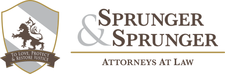 Sprunger & Sprunger Mobile Retina Logo